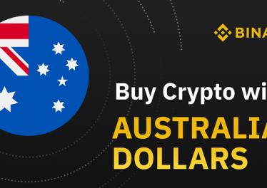Binance Australia permite a los australianos comprar Bitcoin BTC con dólares australianos AUD