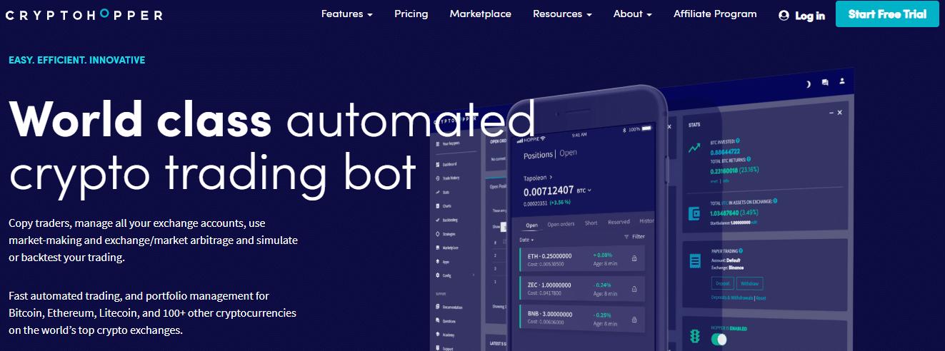 robots bitcoin cryptohopper