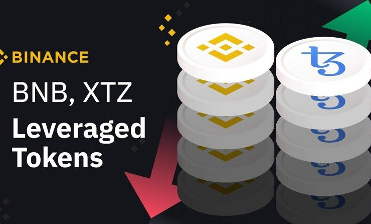 Binance agrega nuevos tokens apalancados BNBUP, BNBDOWN, XTZUP y XTZDOWN