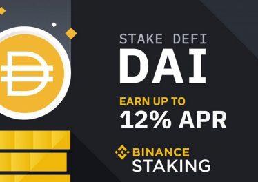 Binance lanza el DeFi Staking con el token DAI