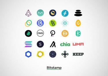 El intercambio Bitcoin Bitstamp publica una lista de 25 altcoins y stablecoins que pueden agregarse a su plataforma de trading